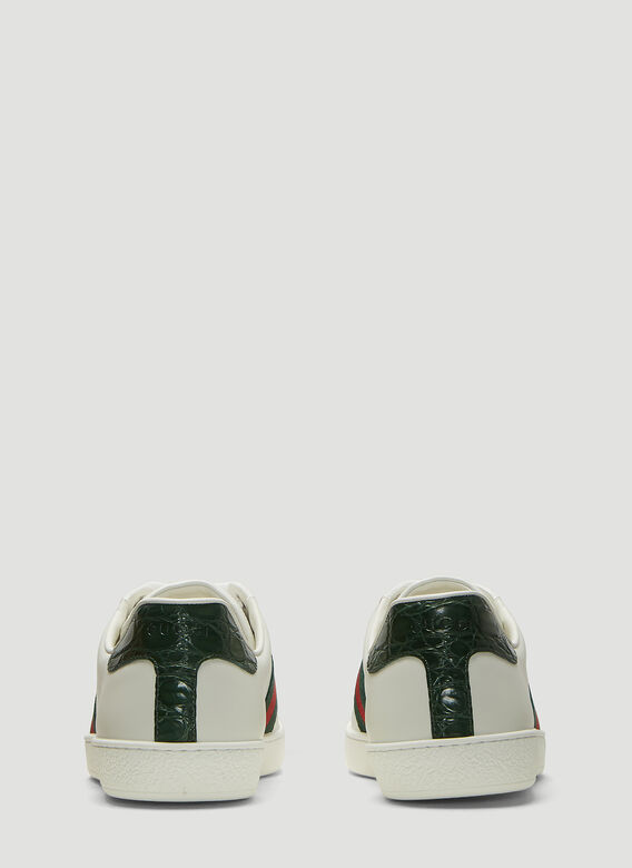 Gucci Ace Leather Sneakers 4