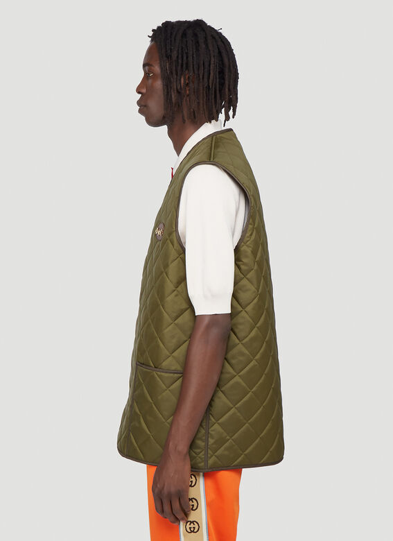 Gucci Quilted Gilet 3
