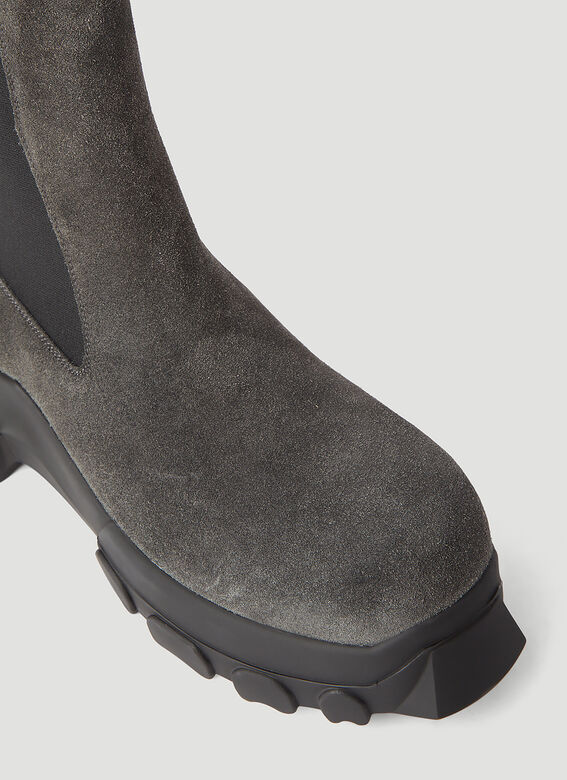 Rick Owens Beatle Bozo Tractor Boots 5