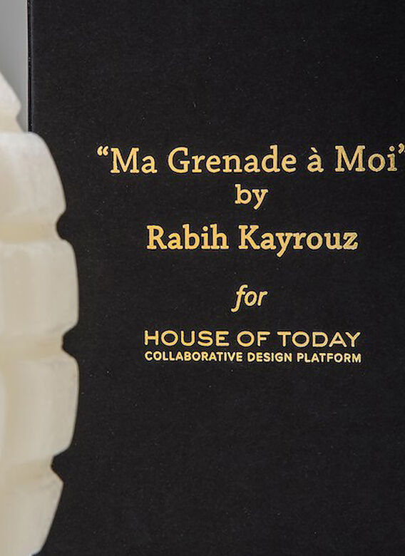 House of Today Grenade Candle 3