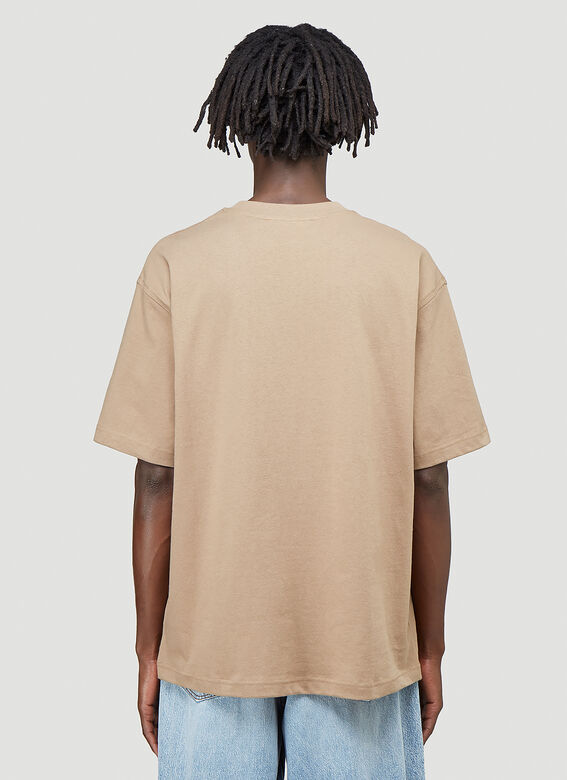 Acne Studios Embroidered-Logo T-Shirt 4