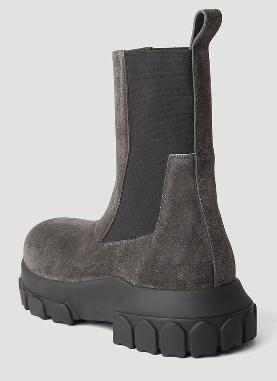 Rick Owens Beatle Bozo Tractor Boots 6