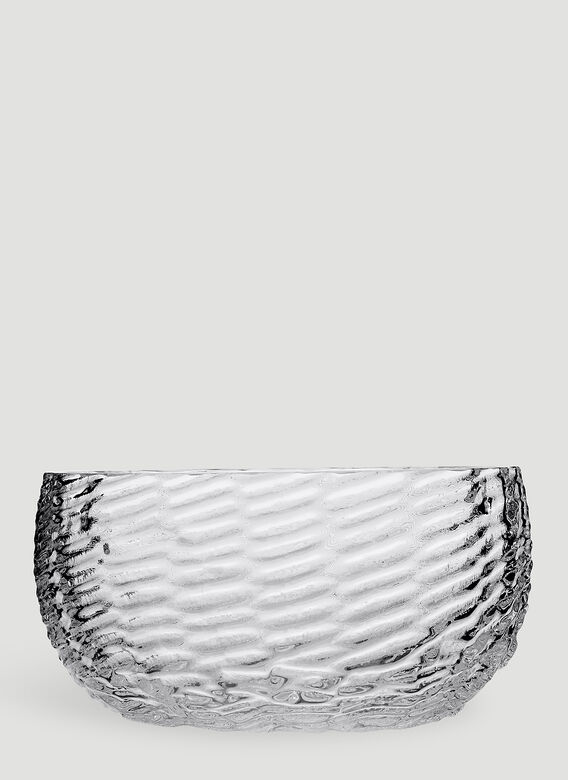 Tre Product Wicker Glass Bowl 1