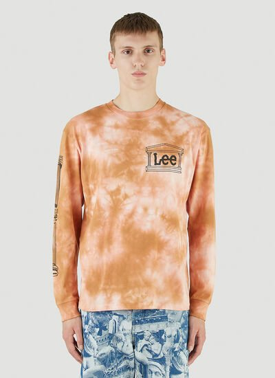 Aries X Lee Collaboration Long-Sleeved T-Shirt