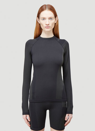 Y-3 Classic Seamless Knit Long-Sleeved Top