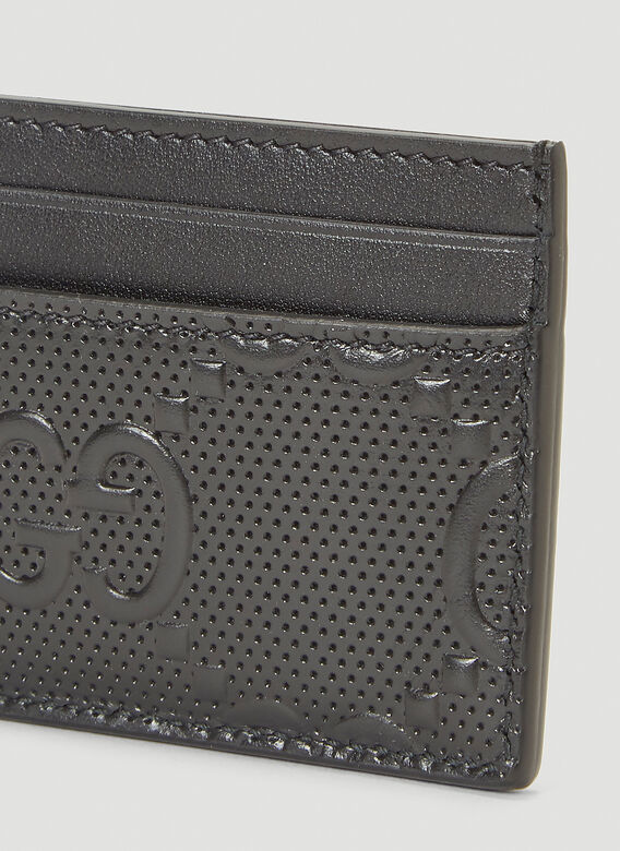 Gucci Perforated-Leather Card Holder 4