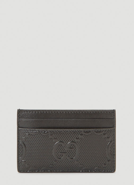 Gucci Perforated-Leather Card Holder 3