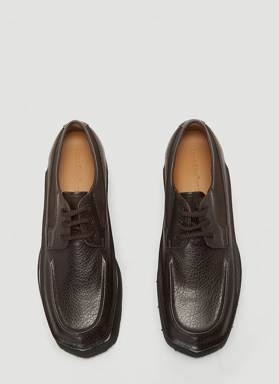Acne Studios Leather Derby Shoes 2