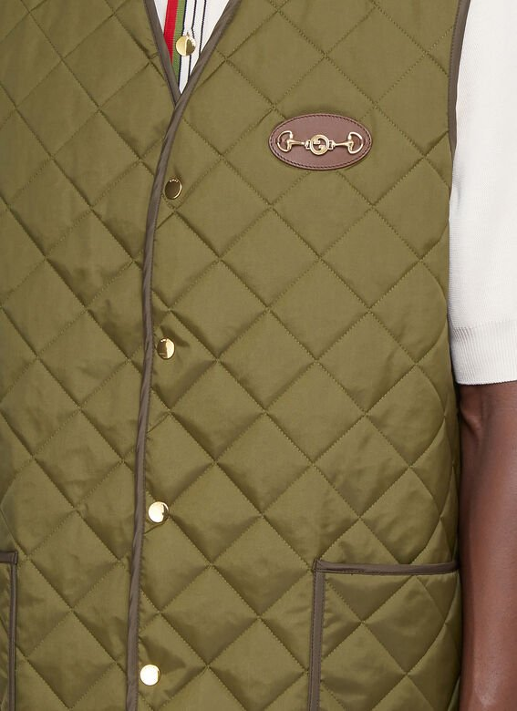 Gucci Quilted Gilet 5