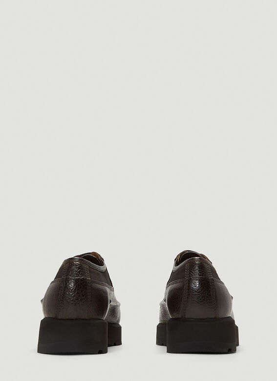Acne Studios Leather Derby Shoes 4