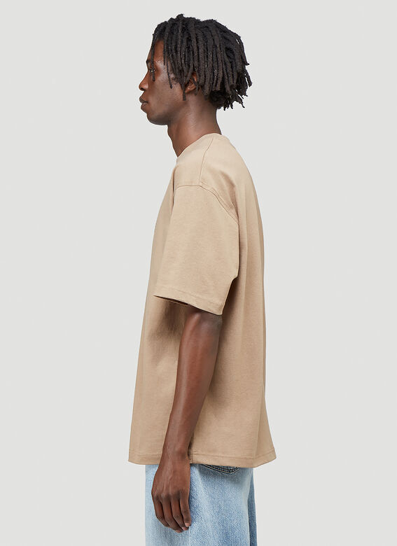 Acne Studios Embroidered-Logo T-Shirt 3