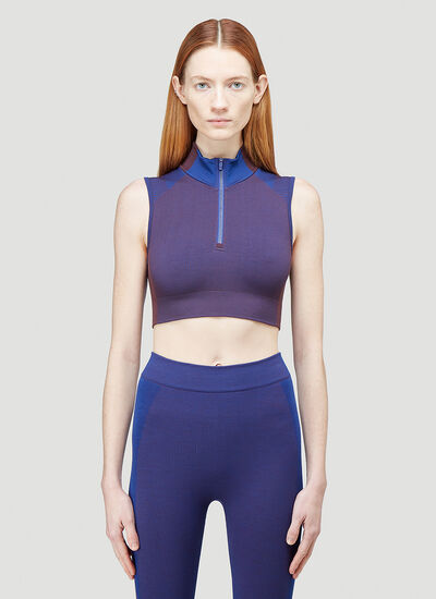 Y-3 Classic Seamless Knit Cropped Top