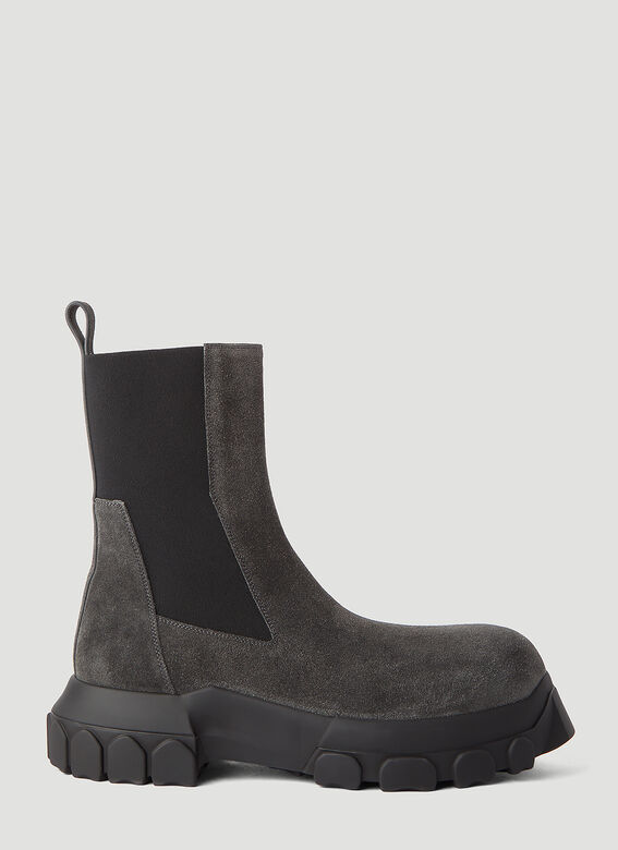 Rick Owens Beatle Bozo Tractor Boots 1