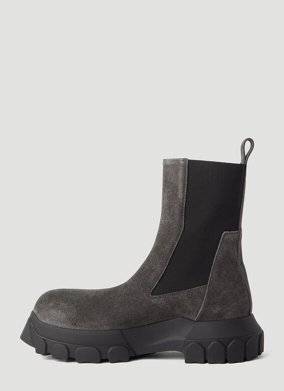 Rick Owens Beatle Bozo Tractor Boots 3