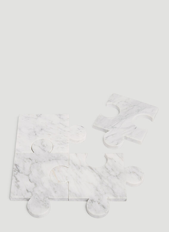 Tre Product Marble Puzzle Coasters 1