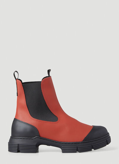 GANNI Recycled Rubber Boots