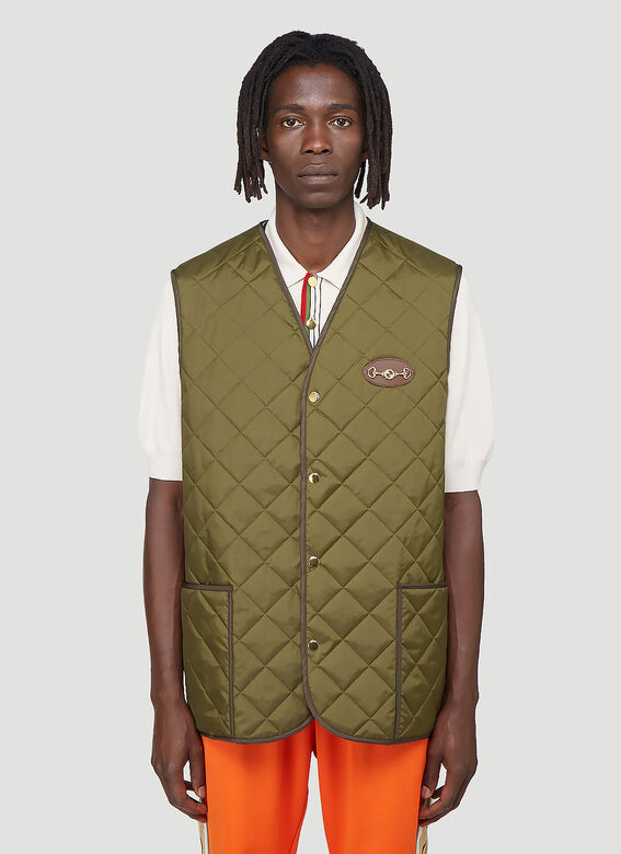 Gucci Quilted Gilet 1