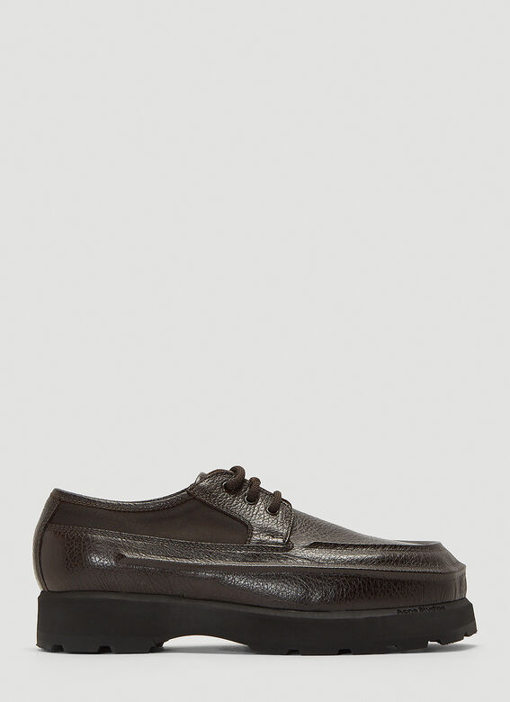 Acne Studios Leather Derby Shoes 1