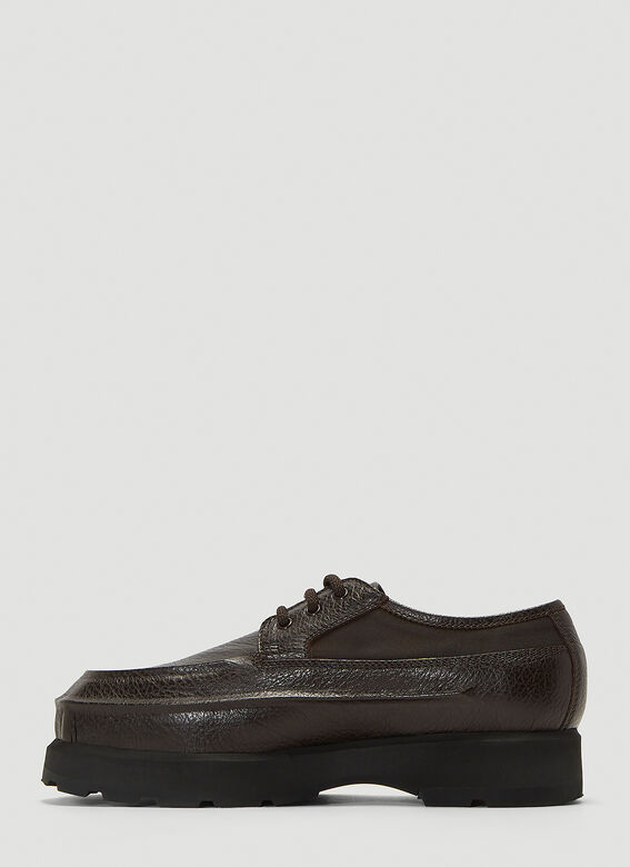 Acne Studios Leather Derby Shoes 3