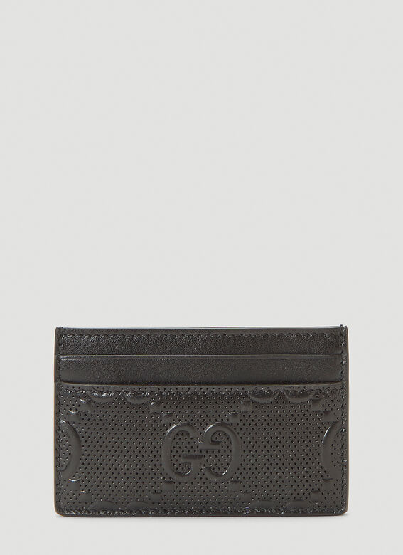 Gucci Perforated-Leather Card Holder 1