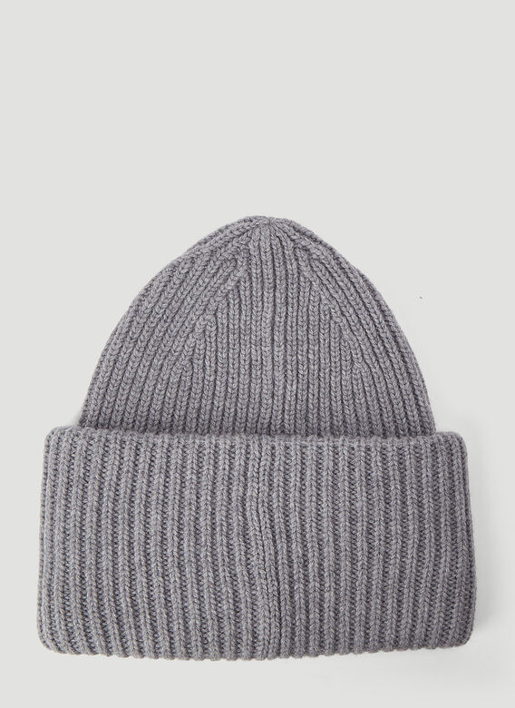 Acne Studios Pansy N Face Beanie Hat 2