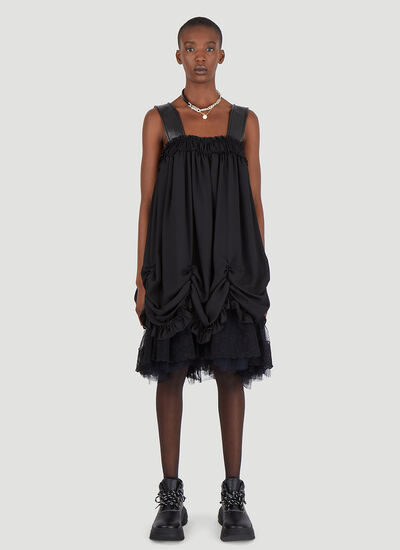 Simone Rocha Ruched Tiered Dress