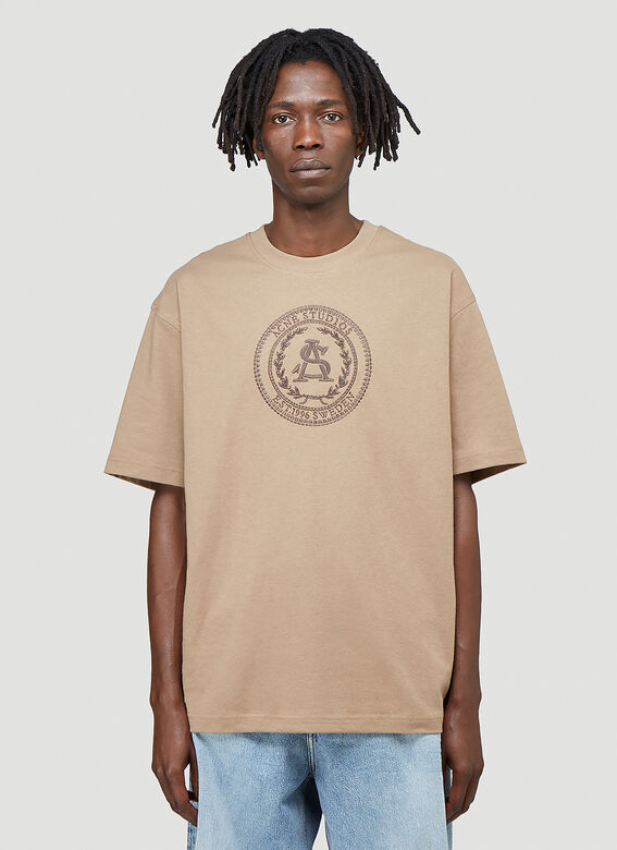 Acne Studios Embroidered-Logo T-Shirt 1