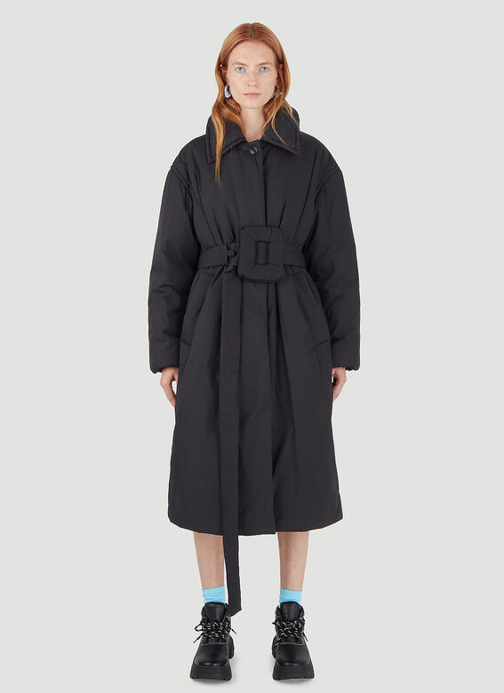 Acne Studios Belted Padded Coat 1