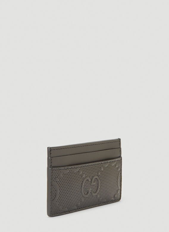 Gucci Perforated-Leather Card Holder 2